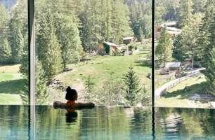 Poolbereich - Hotel Sarotla